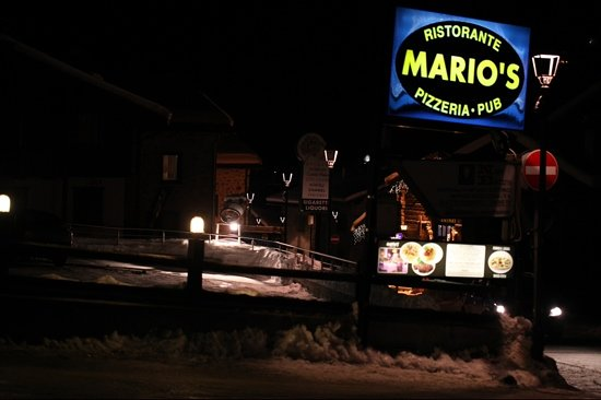 Mario's: A good place for dinner in Livigno. One of the best carta di vini in the town.