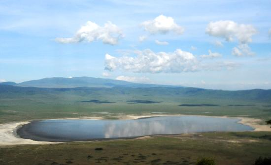 Ngorongoro Conservation Area, แทนซาเนีย: view from Ngorongoro  Serena lodge room