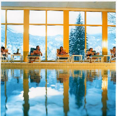 Grand Hotel Regina Grindelwald: Pool im Alpin Spa