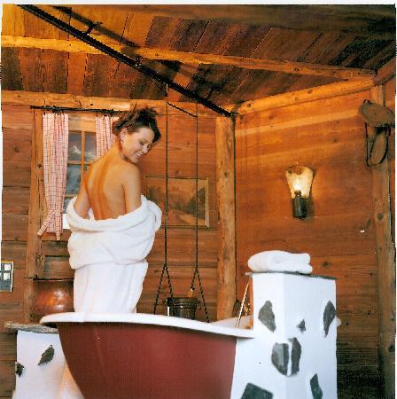 Grand Hotel Regina Grindelwald: Sennhütten Bad