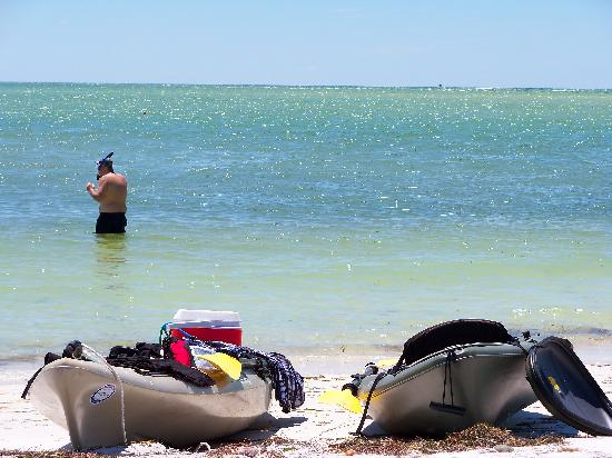 Caladesi Island State Park: great beach for snorkeling if the water is calm