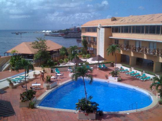 Plaza Hotel Curacao View From Room 318 Is Great Through A Dirty Window