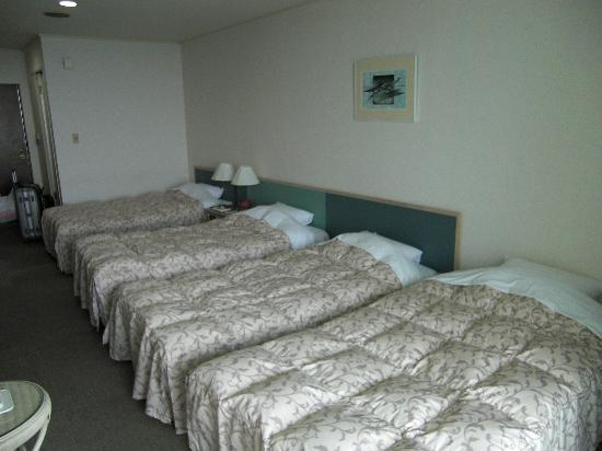 Motobu Resort: 客室です