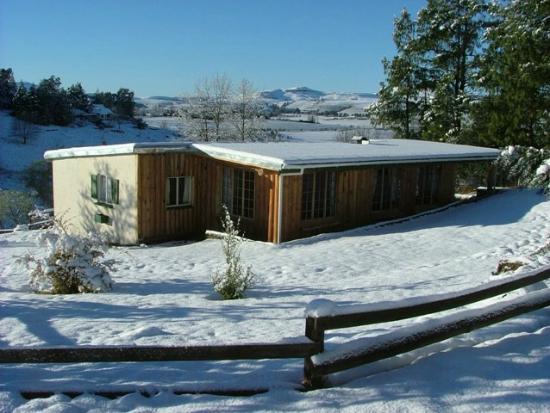 Eagles Rock Mountain Retreat: Sparrow Hawk Winter