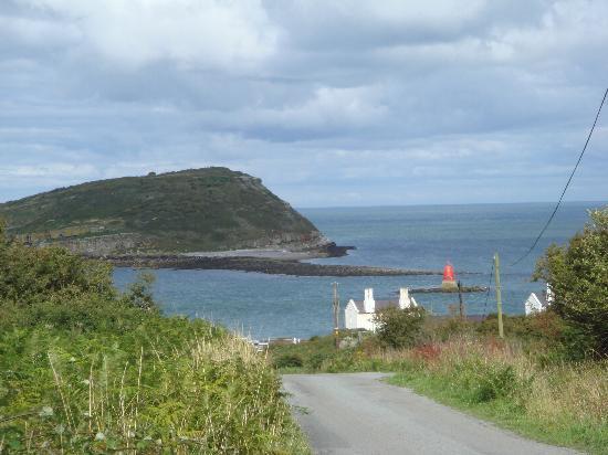 Wern Farm: Coastal scene