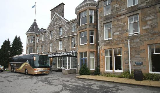 The Pitlochry Hydro Hotel: hotel frontage