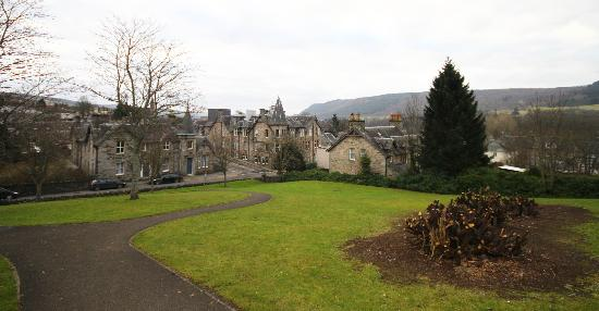 walk into Pitlochry