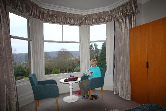 The Pitlochry Hydro Hotel: room with a view