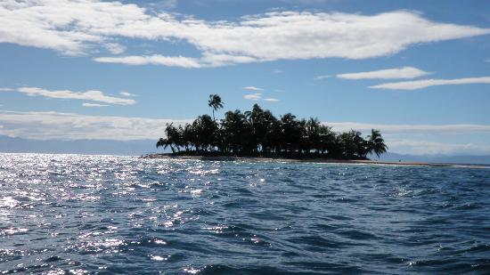 Cayos Cochinos : une des îles