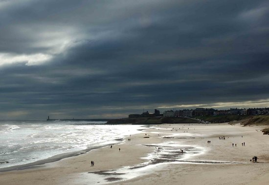 Tynemouth, UK: Wild, windy and wide open spaces!