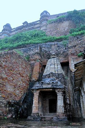 Gwalior Fort: Llegando al fuerte