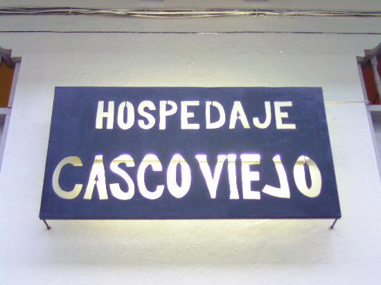Hospedaje Casco Viejo: entrée