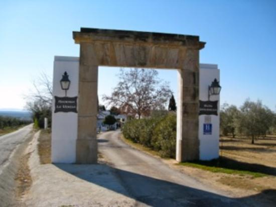 Hacienda La Vereda: Main Entrance on arrival