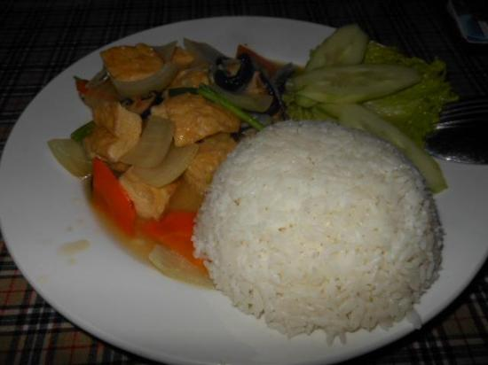 Old Street Cafe & Restaurant: Tofu and Veggies - My pick