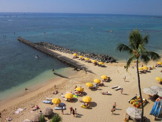Outrigger Reef Waikiki Beach Resort View Of The Section