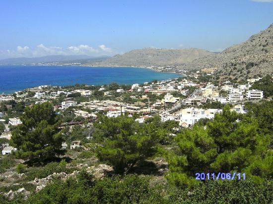 Pefkos Blue: Great views