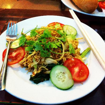 Seventy Hotel: Fried Noodles for Breakfast