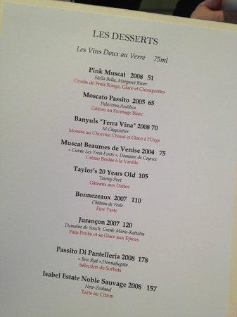 the detailed menu picture of la maison dubai tripadvisor
