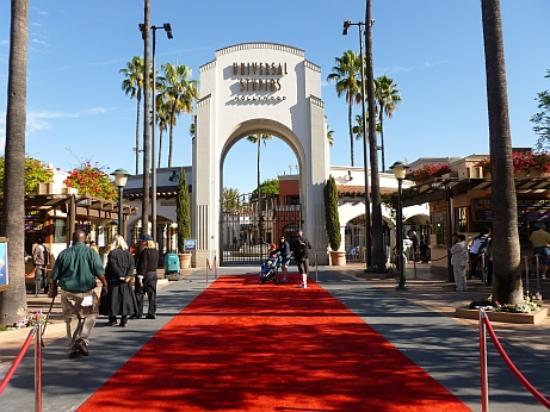 Universal studios red carpet picture of universal for How much to park at lax