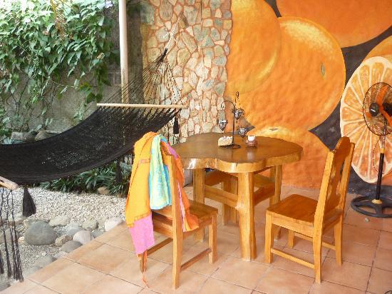 Casa Coba: Terrasse