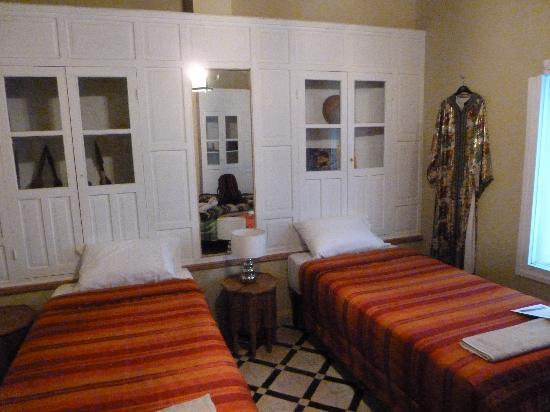 Dar Zerhoune: The dorm room - third bed not in the photo.