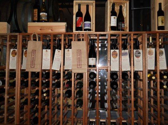 City Winery: Retail Wine