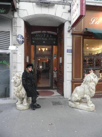 Hotel Foch: entrée