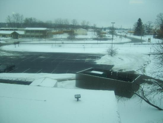 Clarion Suites at the Alliant Energy Center: view from the room