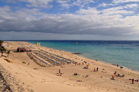 Playa de Jandia, Espagne : Playa Sotavento