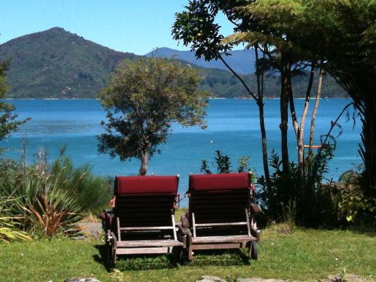 มาร์ลโบโรห์, นิวซีแลนด์: View from the deck