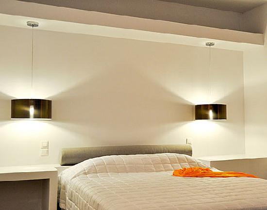 Santa Maria Luxury Suites: The Obsidian suite bedroom