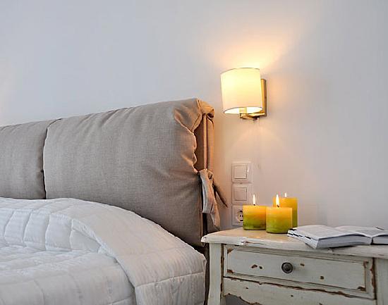 Santa Maria Luxury Suites: The Aquamarine suite bedroom