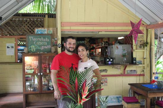 Pura Gula: Owners of the restaurant