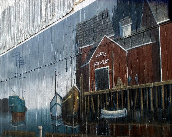 Newport's Historic Bayfront: Newport's Bayfront - Mural