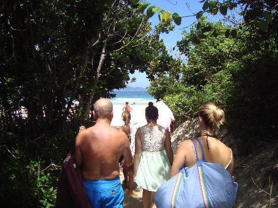 Lopes Mendes Beach: Chegada à Praia