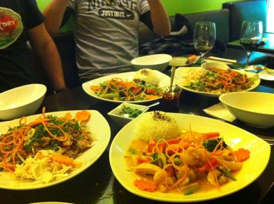 Saigon and More: cena 5 febrero 2012