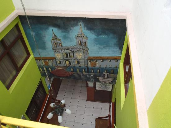 Hostal Marsella : The Lobby Entrance