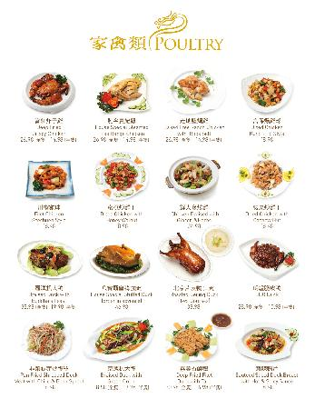 Grand Dynasty Seafood Restaurant : Poultry 家禽類