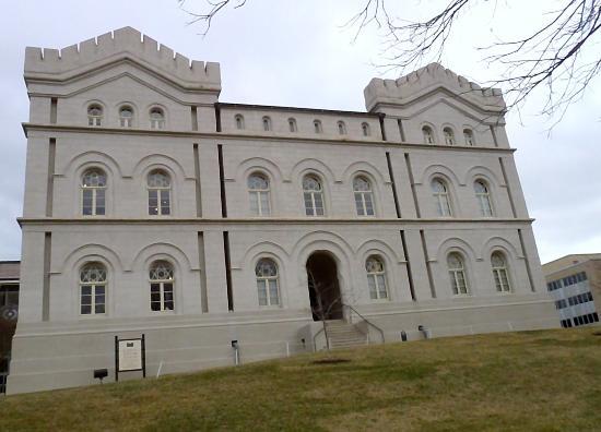 Capitol Complex Visitors Center : Beautiful Building