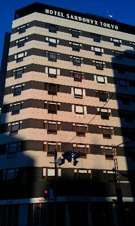 Hotel Sardonyx Tokyo : Building