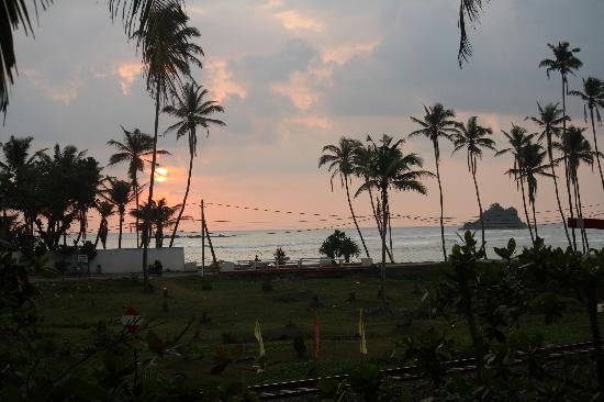 Asanka Guesthouse: the view from the restaurant