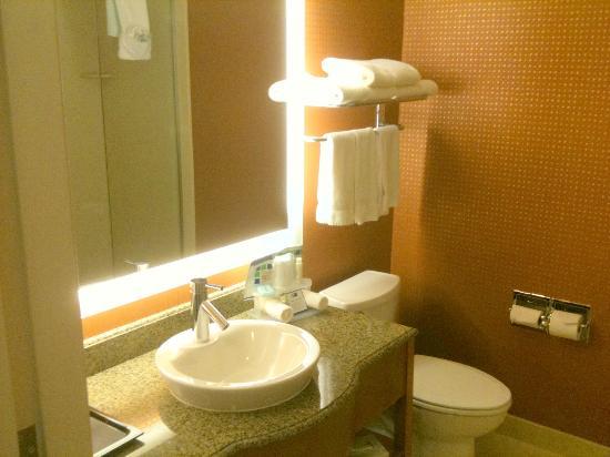 Holiday Inn Express Santa Cruz : Bath