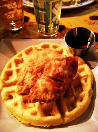 Jean Alberts: chicken & waffles are awesome!!