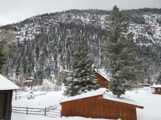 Timber Ridge Lodge: View from the patio