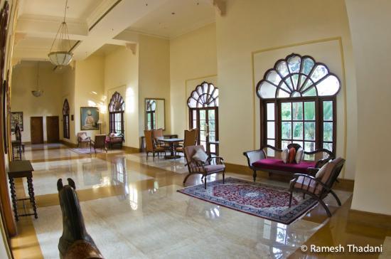 Vivanta by Taj - Hari Mahal, Jodhpur: halls and corridors...