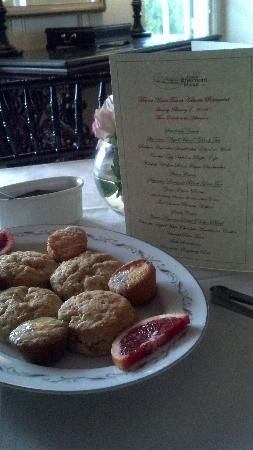 Manor House Tea at Rosemont Manor.: Scones