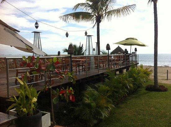 Sandzibar: el deck sobre la arena