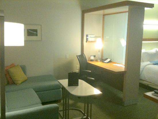 SpringHill Suites Las Vegas Convention Center: Sitting Area