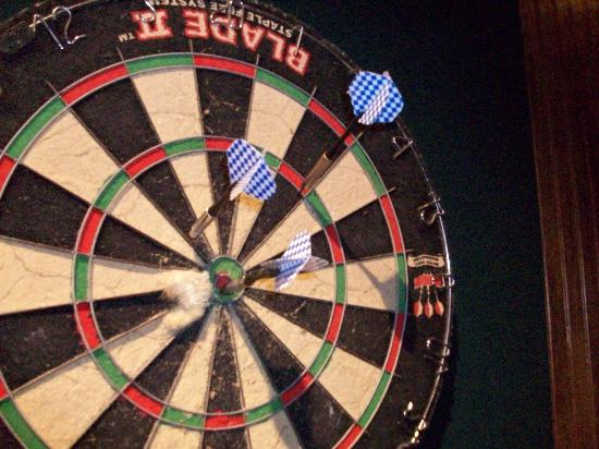 Nyack, NY: Darts anyone?