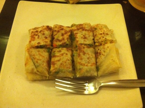 Colonial Cuisine: Vegetable Martabak